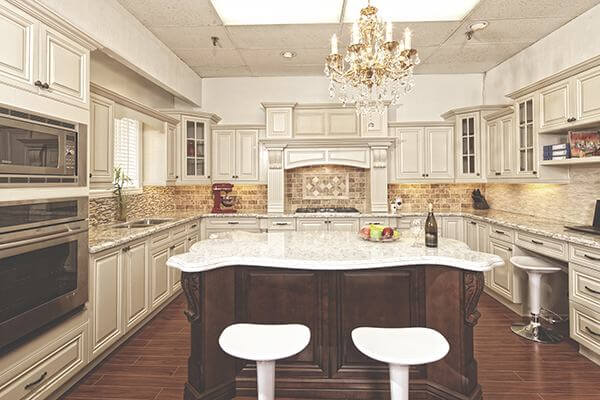 Antique white kitchen 3