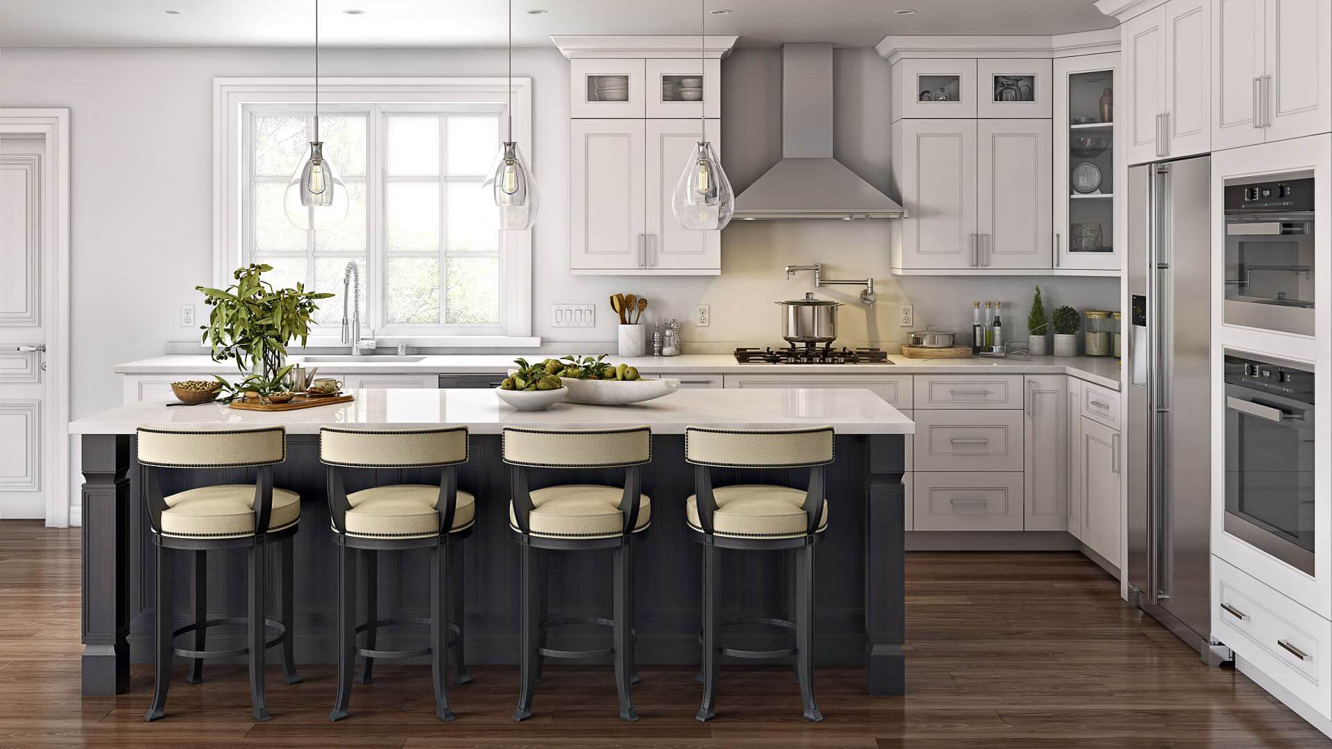 Custom Kitchen Cabinets & Renovations